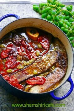 Khoresh (meaning stew in Farsi) Bademjan (Eggplant in Farsi), is the second most important Persian stew following Ghorme sabzi ; the ki...