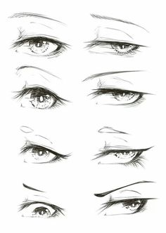 Pin by lauren garrity on drawings art sketches, manga eyes, anime art. Anime Drawings Sketches, Manga Drawing, Drawing Faces, Sketches Of Eyes, Pencil Drawings, Realistic Eye Drawing, Pencil Sketching, Manga Art, Drawing Techniques