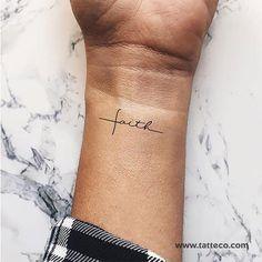 Cross Tattoo On Wrist, Small Cross Tattoos, Small Tattoos, Cross On Wrist, Simple Cross Tattoo, Cute Tattoos On Wrist, Grace Tattoos, Hand Tattoos, Girl Spine Tattoos