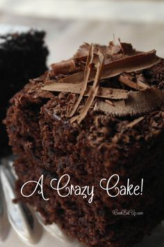 A Crazy Cake - cookeatup