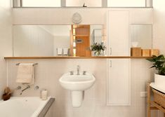 'Gascoigne House' - love the split cupboard