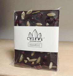 Chocolate Amargo con Pepitas y Arandanos