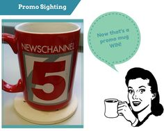 Promotionally Yours: Real Life Promos:  Coffee Mug ~ Promotionally Your...
