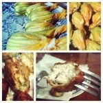 You don't have to dine out in Italy to get amazing food. Pick up some fresh seasonal products and cook for yourself. Fried zucchini flowers are a wonderful addition to any meal.