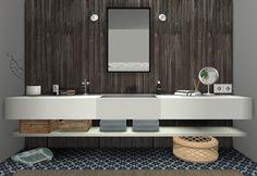 Sims 4 CC's - The Best: MS91 Orama Bathroom Conversion by SanoySims