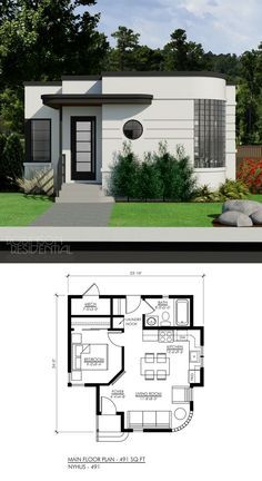 10 Bedsitters Ideas In 2021 Small House Plans House Plans House Design