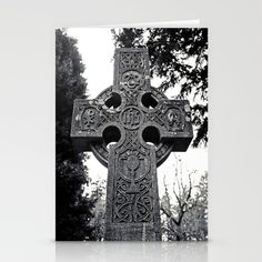 Celtic cemetery cross