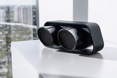 Porsche Designused the original tailpipe cover of the 911 GT3 as the main part of its new 911 Bluetooth Speaker.