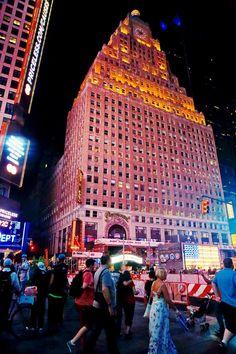 NYC Night City - times square