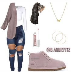 Cute Outfits With Jeans, Baddie Outfits Casual, Swag Outfits For Girls, Teenage Girl Outfits, Cute Swag Outfits, Cute Comfy Outfits, Girls Fashion Clothes, Teen Fashion Outfits, Mode Outfits