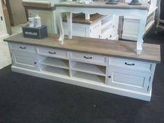 Landelijk Tv Meubel : Maatwerk landelijk tv meubel flatscreen old wood pleasure