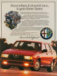 Alfa Romeo Milano adv