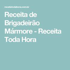 Receita de Brigadeirão Mármore - Receita Toda Hora
