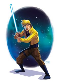 Luke Skywalker by Kevin T. Chin #starwars #fanart