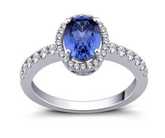 SOLID STERLING SILVER 925 SOLITAIRE RING WITH MICRO PAVE  HAND SETTING. Pave Ring, Solitaire Ring, Engagement Jewelry, Wedding Jewelry, Shop Till You Drop, Oval Rings, Blue Sapphire, Heart Ring, Jewelry Watches