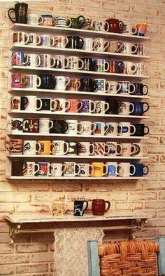 Mugs,colección.