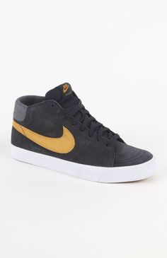 (Limited Supply) Click Image Above: Mens Nike Shoes - Nike Blazer Mid Lr Blue Shoes