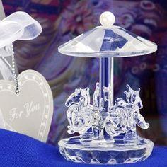 this crystal carousel is so elegant. simply beautiful!