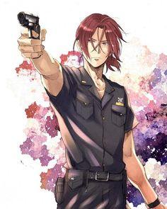 Admit it, Rin looks hot as a police officer Manga, Rin Matsuoka, Swimming Anime, Splash Free, Free Eternal Summer, Free Iwatobi Swim Club, Free Anime, Anime Shows, Anime Guys
