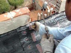 Como aplicar manta asfaltica