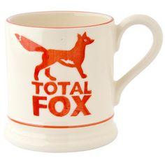 Total Fox 1/2 Pint Mug