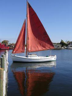 """Sjogin"". Double-ended lapstrake sailboat"