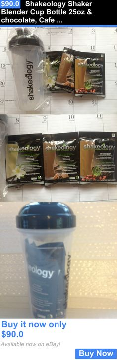 Energy Bars Shakes and Drinks: Shakeology Shaker Blender Cup Bottle 25Oz And Chocolate, Cafe Latte Vanilla Shake BUY IT NOW ONLY: $90.0