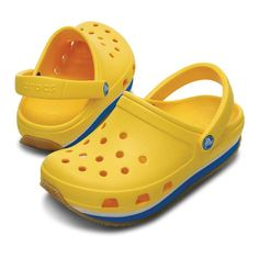 Crocs - Retro Kids Clog Yellow (14006-723) f253b5cf88e