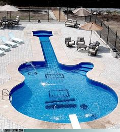 "Thinking of getting a swimming pool for this summer? Here's a nice design to consider - Pinned for Bocazo.com providing ""All Real Estate Info"". #pools #swimmingpools"