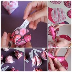 Fortune Cookies | 40 Unconventional DIY Valentine's Day Cards