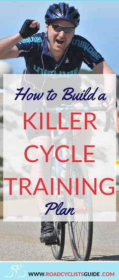 Make a personal cycling training plan