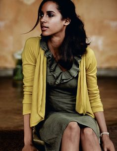 canary yellow cardigan | : : Fashion | Style : : | Pinterest ...