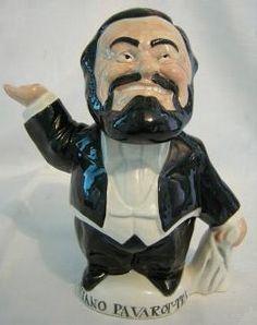 Luciano Pavarot-tea the Teapot