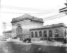 Terminal station southern railway 1933. Chattanooga, Tennessee. Choo Choo.