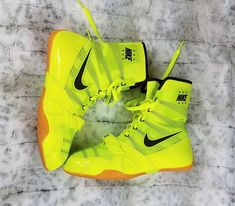 release date b8ac7 817c8 Nike Hyperko MP Boxing Shoes Size 10 Men s Volt Sequoia Neon Flywire  Nike   BoxingShoes