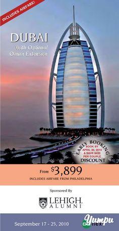 Dubai - Magazine with 10 pages: Dubai Travel Magazines, Travel Agency, Dubai