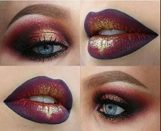 Maybe not the lips AND eyeshadow unless it's a fancy event or going out. But a more subtle version of one or the other would probably be nice.