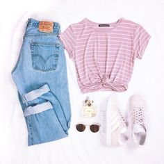 teen clothes for school,teen fashion outfits,cheap boho clothes Cute Comfy Outfits, Cute Outfits For School, Cute Casual Outfits, Swag Outfits, Girly Outfits, Simple Outfits, Stylish Outfits, Pink Top Outfit, Stylish Men