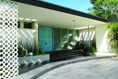 A 1958  home designed by Morris Lapidus architect of the Fountainebleau Hotel.