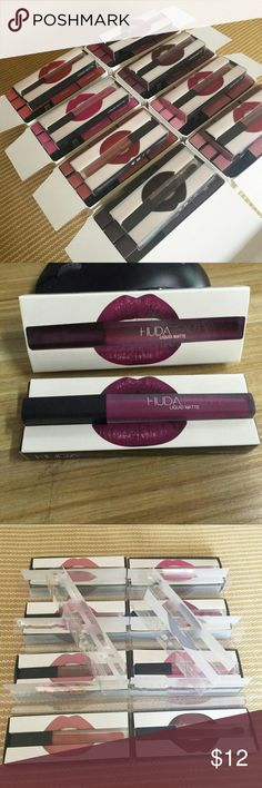 20 minimum order Huda lipgloss Makeup Lip Balm & Gloss