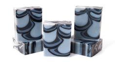 Homemade Soap - November Soap Challenge Club Entry - Indigo Shimmy