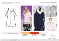 SS17 | Womenswear | Development | Woven Tops