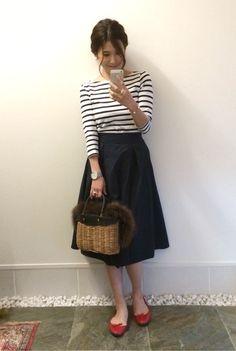 スカートと赤い靴でちょっとそこまで♡ の画像|斎藤 寛子オフィシャルブログ 「ひろころ日記」 Powered by Ameba