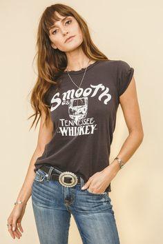 BANDIT BRAND Tennessee Whiskey Womens Tee