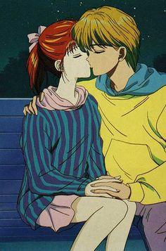 Oldies but Goldies (Classic Anime & Manga) Manga Love, Manga Girl, Anime Love, Romantic Anime Couples, Cute Anime Couples, Anime Centaur, Voyage Hawaii, Kodomo No Omocha, Kagome Higurashi