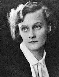 Astrid Lindgren som ung i 1924
