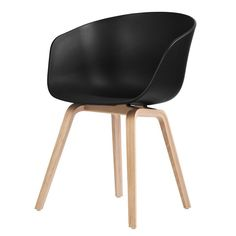 HAY - About A Chair AAC22 Black - Stoel