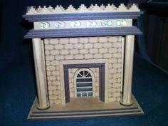Templo De Salomão Em Mdf 3mm - R$ 79,99