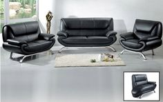 Attractive Leather Sofa Sets 3 for Your Living Room - MelodyHome.com