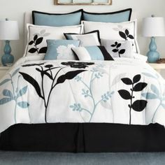Shadow Leaf 10pc comforter set - J C Penney